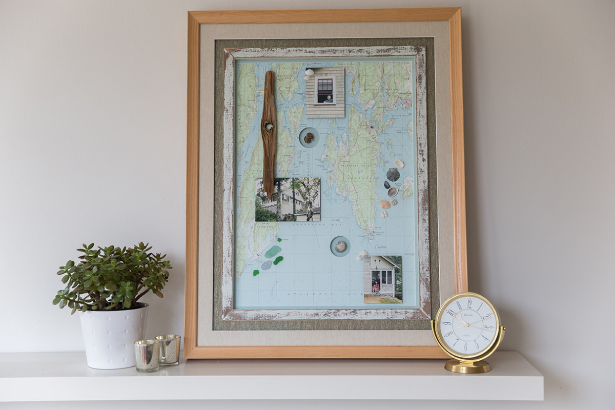 Custom Frame of Memories and Everyday Objects