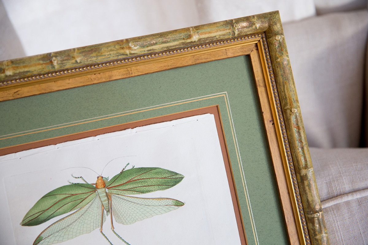 Artwork within a Custom Frame by Walden Framer