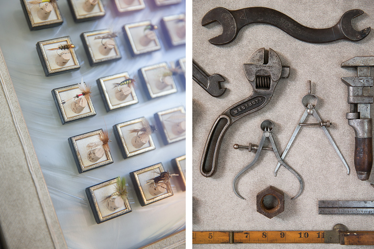 Custom Frames of Everyday Objects Composed by Walden Framer